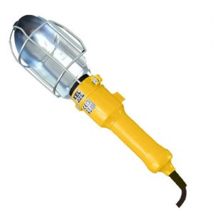 230v INNY E+98-5710 LAMPA WARSZTATOWA Z HAKIEM 5 METRów IP20 E27 60W 230v