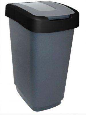 Na Odpady INNY POJ KLIP50SC POJEMNIK NA ODPADY KLIP 50L CZARNY