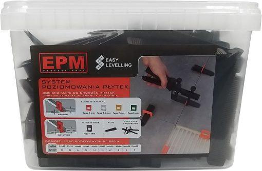 Akcesoria Glazurnicze EPM E-315-8840 SYSTEM UKŁADANIA PŁYTEK EASY LEVELING 100 KLINów akcesoria