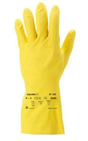 Ochrona rąk INNY REK GU AL S RĘKAWICE GUMOWE ANSELL ALPHATEC 87-190 ROZMIAR S 87-190,