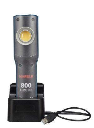 230v MARELD L-690005012 LAMPKA WARSZTATOWA LED 10W LI-ION+ZASILACZ ILLUMINE 8 230v