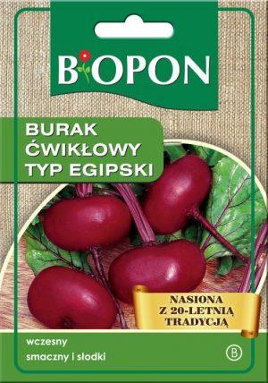 Warzywa BIOPON BR BIO-1424 BURAK ĆWIKŁOWY EGIPSKI 15G bio-1424