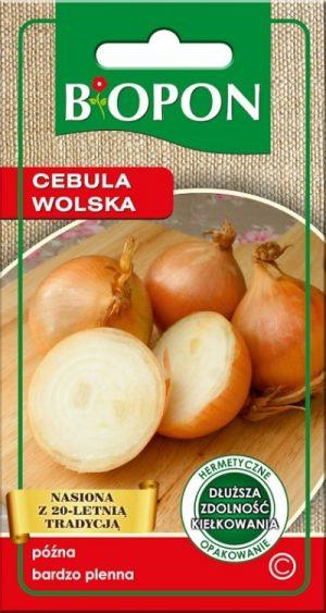 Warzywa BIOPON BR BIO-1432 CEBULA WOLSKA 3G bio-1432