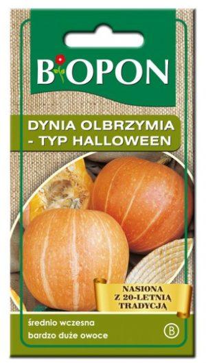 Warzywa BIOPON BR BIO-1435 DYNIA OLBRZYMIA – TYP HALLOWEEN 3G –