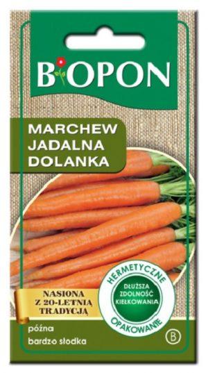 Warzywa BIOPON BR BIO-1462 MARCHEW JADALNA DOLANKA 4G bio-1462