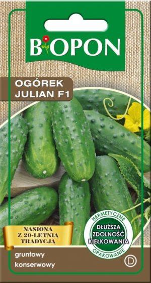 Warzywa BIOPON BR BIO-1468 OGÓREK JULIAN F1 2G bio-1468