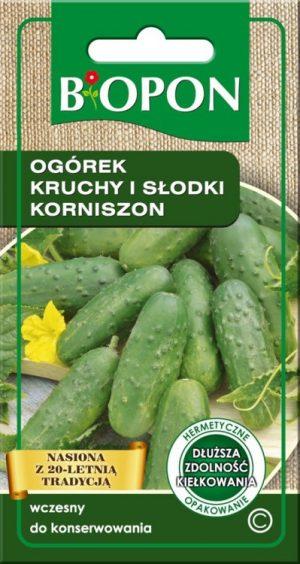 Warzywa BIOPON BR BIO-1470 OGÓREK KRUCHY I SŁODKI KORNISZON 2G bio-1470