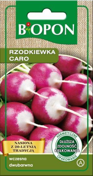 Warzywa BIOPON BR BIO-1486 RZODKIEWKA CARO 8G bio-1486