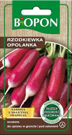 Warzywa BIOPON BR BIO-1488 RZODKIEWKA OPOLANKA 8G bio-1488
