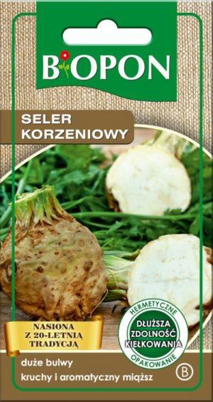 Warzywa BIOPON BR BIO-1493 SELER KORZENIOWY GIANT PRAGUE 0.4G 0.4g