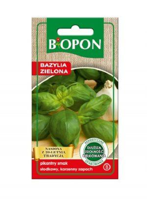Zioła BIOPON BR BIO-1499 BAZYLIA ZIELONA 0.5G 0.5g