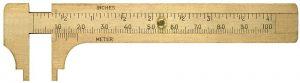 Manualne INNY L-26540203 SUWMIARKA KIESZONKOWA Z MOSIADZU 100MM 10,0mm