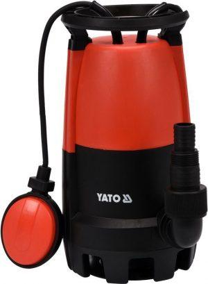 Bez Rozdrabniacza YATO YT-85330 POMPA ZATAPIALNA 400W 400w