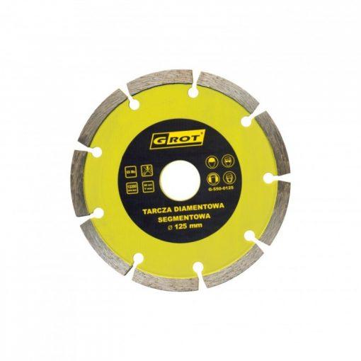 Segmentowe GROT G-550-0125 TARCZA DIAMENTOWA SEGMENTOWA 125MM 125mm