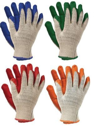 Ochrona rąk INNY REK RUZ 450 RĘKAWICE OGRODNICZKI POWLEKANE GUMĄ ZIELONE 450 gumĄ