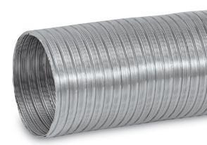 Flex Aluminiowe INNY RF 125 RURA ALUMINIOWA FLEX 125MM 1MB 125mm