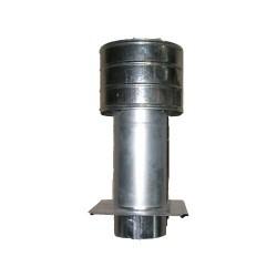 Ocynkowane INNY RDF 130 ROZ DEFLEKTOR OCYNKOWANY Z PŁYTĄ 130MM 1,30mm