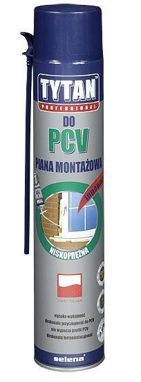 Do PCV TYTAN PIA 750 LPCV PIANKA 750ML TYTAN DO PCV NISKOROZPRĘŻNA WIELOSEZONOWA 750ml