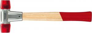 Młotki Mlotek z trzonkiem jesionowym 50mmz miekkim bijakiem z octanu celulozy FORMAT 50mmz