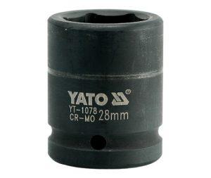 """Nasadki Krótkie 3/4"""" YATO YT-1078 NASADKA KRÓTKA UDAROWA 6-KĄTNA 3/4"""" 28MM 2,8mm"""