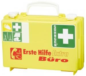 Bez kategorii Apteczka pierwszej pomocy Extra Biurowa, DIN 13157, żółta 13157