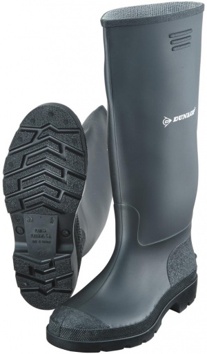 Ochrona stóp Buty Dunlop Pricemastor, roz.  43, czarne buty