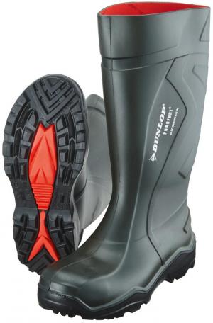 Ochrona stóp Buty Dunlop Purofort+, S5 CI SRC, roz. 39, zielone buty