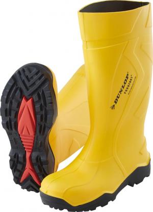 Ochrona stóp Buty Dunlop Purofort+, S5, roz. 39, żółte buty