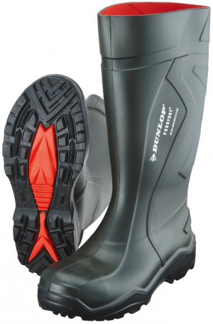 Ochrona stóp Buty Dunlop Purofort+, S5CI SRC, roz. 42, zielone buty