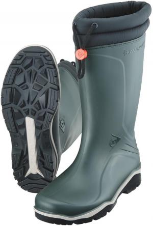 Ochrona stóp Buty zimowe Dunlop Blizzard, rozmiar 39, zielone blizzard,