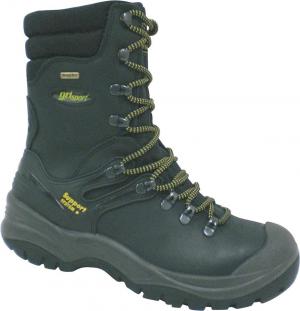 Ochrona stóp Buty zimowe wysokie Stromboli, S3, roz. 45, czarne buty