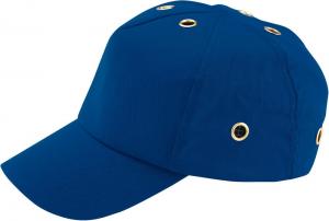 Ochrona głowy/twarzy Czapka EN 812, kobaltowo-niebieska 812,