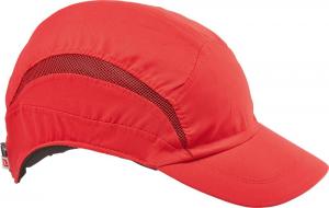 Ochrona głowy/twarzy Czapka z daszkiem F.B.3 Classic Standard, czerwona