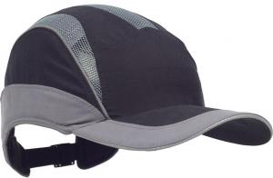 Ochrona głowy/twarzy Czapka z daszkiem F.B.3 Elite Standard, czarna/szara