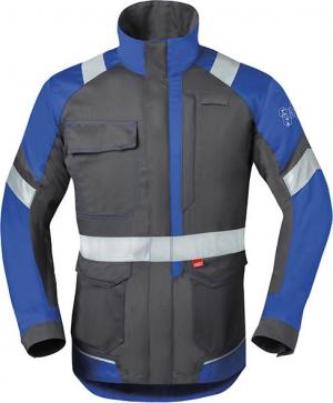 Odzież ochronna Długa kurtka 50285, rozmiar 58, szary/niebieski 50285,