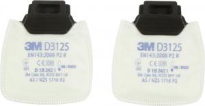 Ochrona dróg oddechowych Filtr cząstek stałych D 3125 P2 R 3M