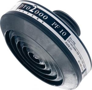 Ochrona dróg oddechowych Filtr śrubowy, P3R (PF10) 40 mm