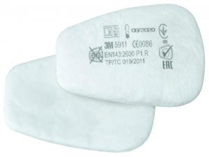 Ochrona dróg oddechowych Filtr z wkładem flizelinowym 5911, P1R