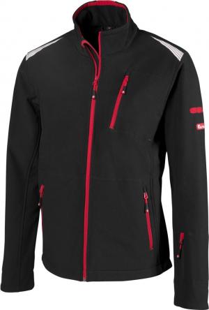 Kurtki i płaszcze FORTIS kurtka męska 24, czarna/czerwona, rozmiar 4XL czarna/czerwona,