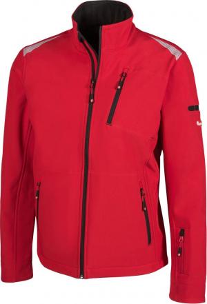 Kurtki i płaszcze FORTIS kurtka męska 24, czerwona/czarna, rozmiar L czerwona/czarna,