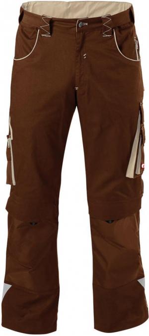 Odzież robocza FORTIS Spodnie H-band 24, brązowe/beżowe, rozmiar 64 brązowe/beżowe,