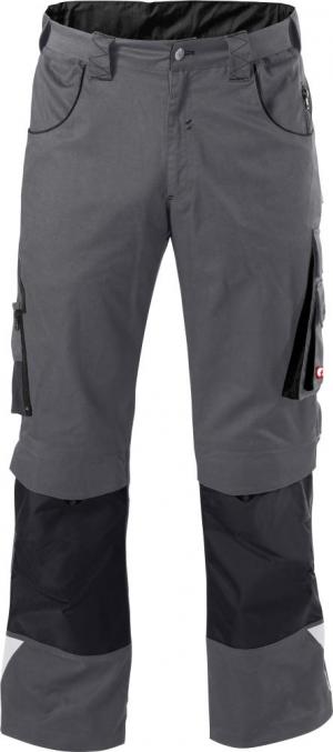 Odzież robocza FORTIS Spodnie H-band 24, szare/czarne, rozmiar 56 fortis