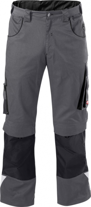 Odzież robocza FORTIS Spodnie H-band 24, szare/czarne, rozmiar 60 fortis