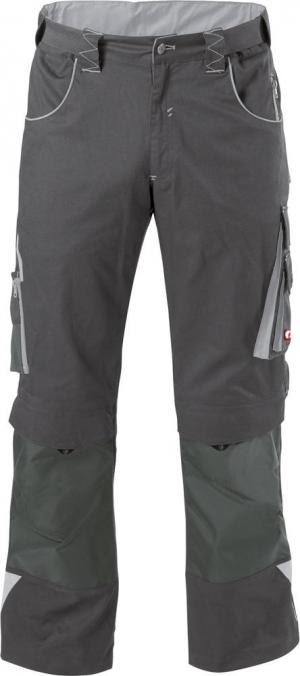 Odzież robocza FORTIS Spodnie H-band 24, szare/jasnoszare, rozmiar 90 fortis