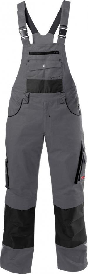 Odzież robocza FORTIS Spodnie ogrodniczki 24, szare, rozmiar 62 fortis