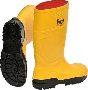 Ochrona stóp Kalosze 35332 Rönne PU, S5, żółte, roz. 46 35332