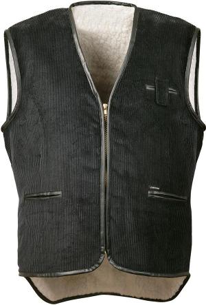 Kamizelki Kamizelka z szerokim sznurem, rozmiar XL, czarna czarna,