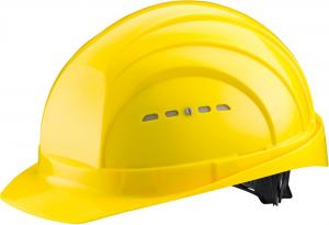 Ochrona głowy/twarzy Kask ochronny EuroGuard 6, EN 397, żółty