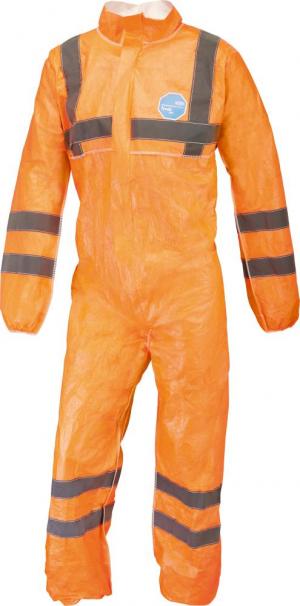 Odzież ochronna Kombinezon jednorazowy Tyvek 500 HV, pomarańczowy, rozmiar L
