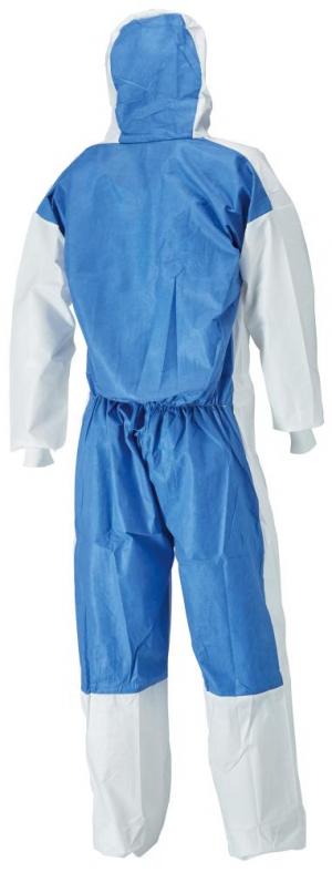 Odzież ochronna Kombinezon ochronny 4535, biały/niebieski, typ 5/6, rozmiar M